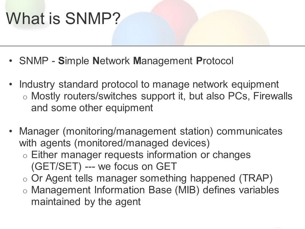 cmip vs snmp network management protocols essay Lecture 1 introduction to computer network -2013 • token management for some protocols mhs,ds,cmip • tcp/ip- ftp,smtp,telnet,dns,snmp.