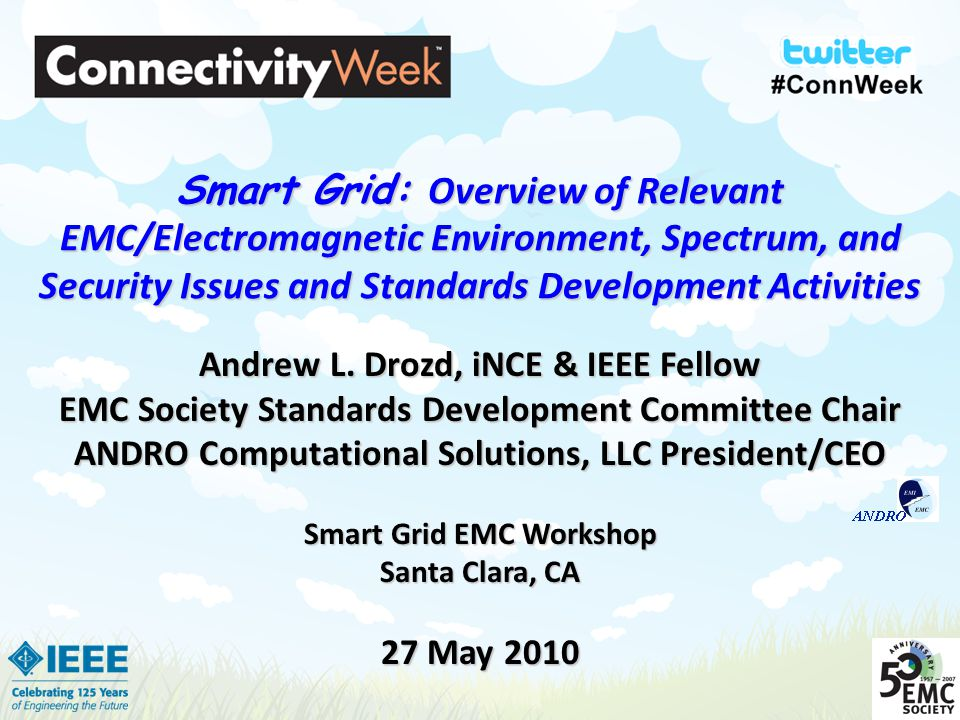 Smart grid overview of relevant emc electromagnetic for Emc security systems