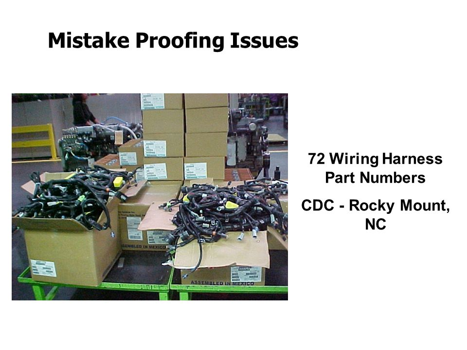 Mistake+Proofing+Issues introduction to design for (cost effective) assembly and wiring harness design guidelines ppt at aneh.co