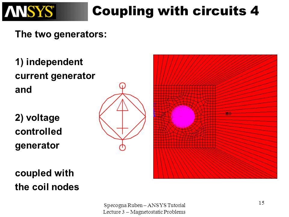 Coupling with circuits 4