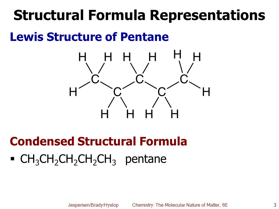 Hexane lewis structure