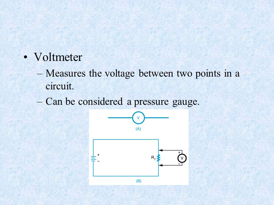 Voltmeter At A Point : Electrical measurements meters ppt video online download