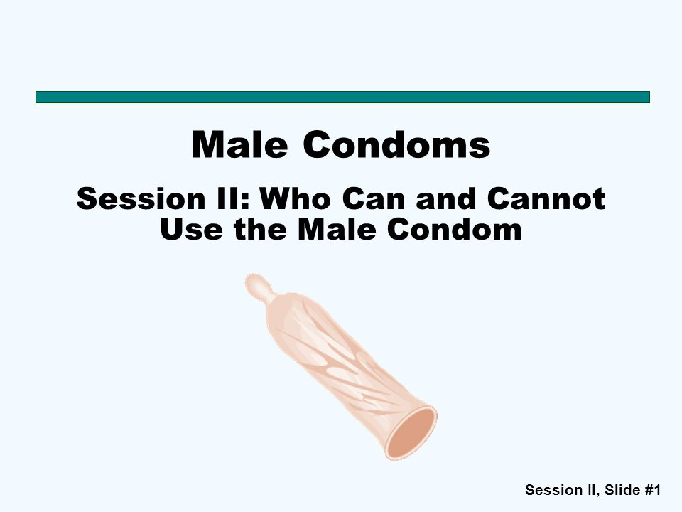 how to put on a male condom video