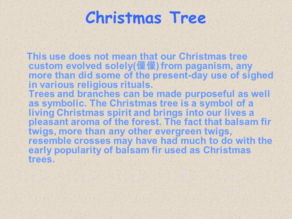 Where Did The Custom Of A Christmas Tree Began