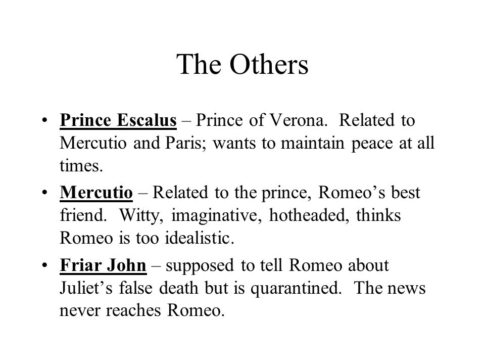 characters of romeo and juliet pdf