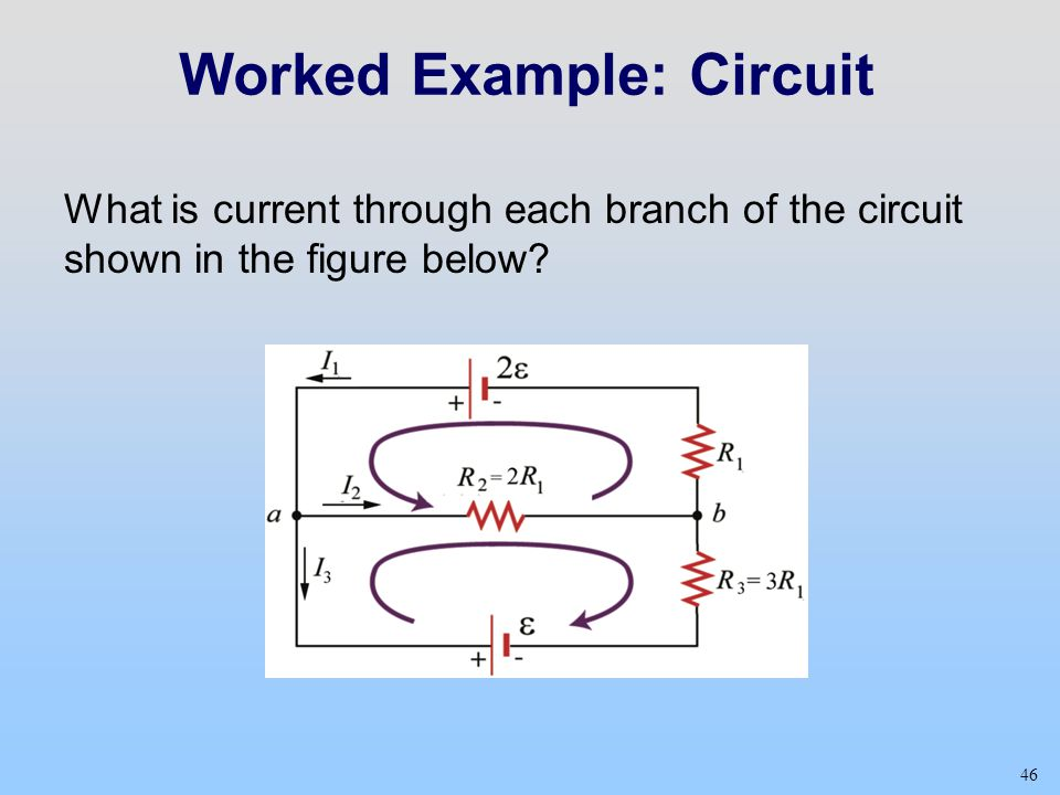 Worked Example: Circuit