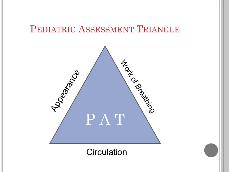 pediatric assessment Pediatric surge pocket guide clinical checklists, guides, and just-in-time references to manage a surge of pediatric patients  pediatric assessment triangle.