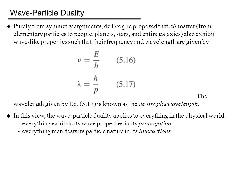 Why Do We Not Notice The Particle Nature Of Light