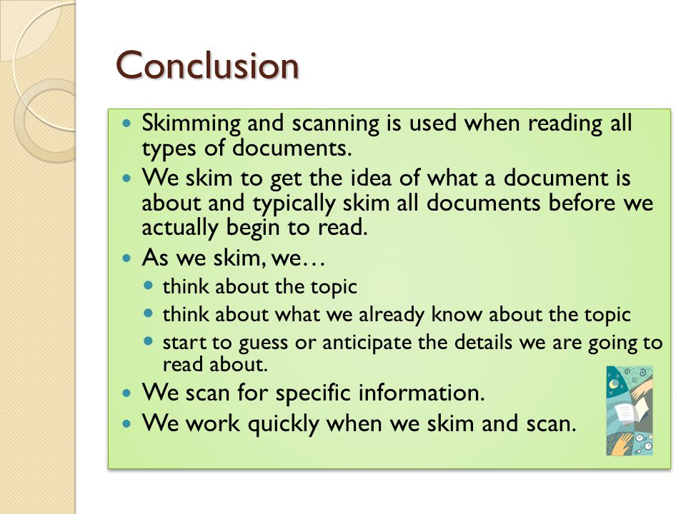 types of reading skills pdf