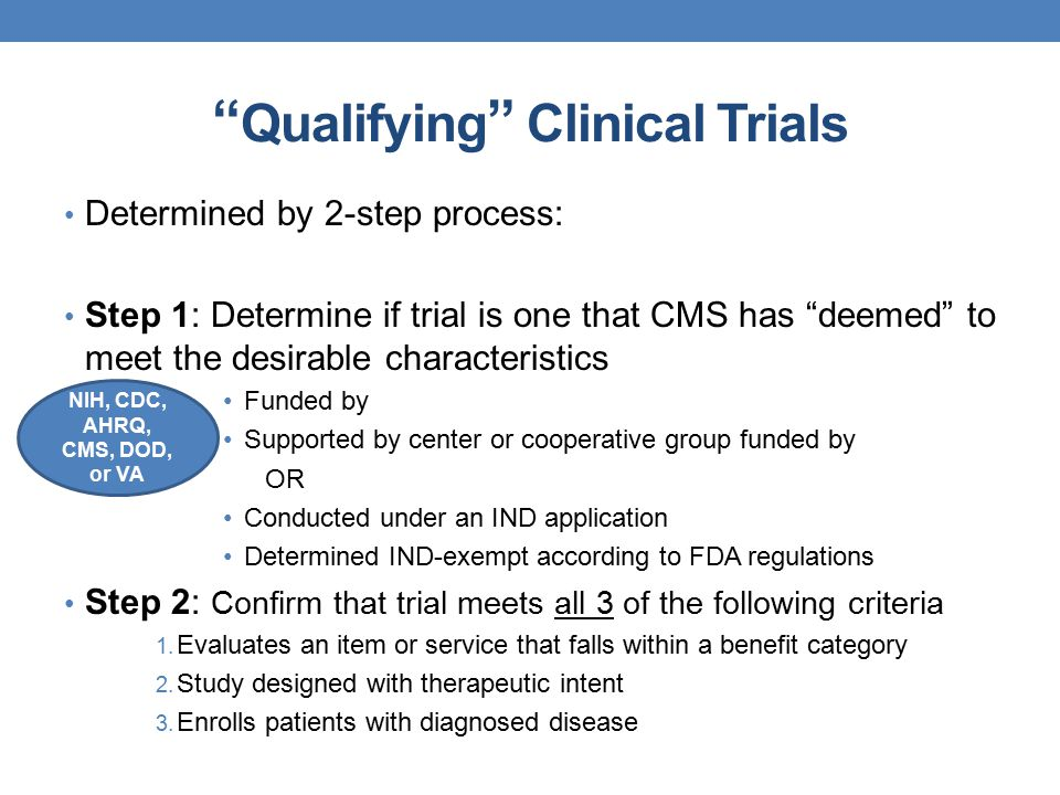 an analysis of the cancer clinical trials for medicare beneficiaries A beneficiary was admitted to the hospital for covered services, but during the   medicaid program to cover phase ii and iii cancer clinical trials that are  care  and studies, analyses, surveys, and related activities to serve the.