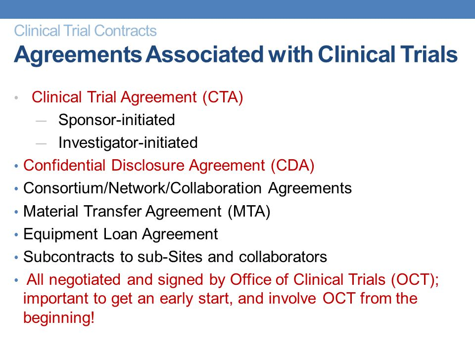 Orientation for new clinical research personnel module 3 ppt clinical trial contracts agreements associated with clinical trials platinumwayz