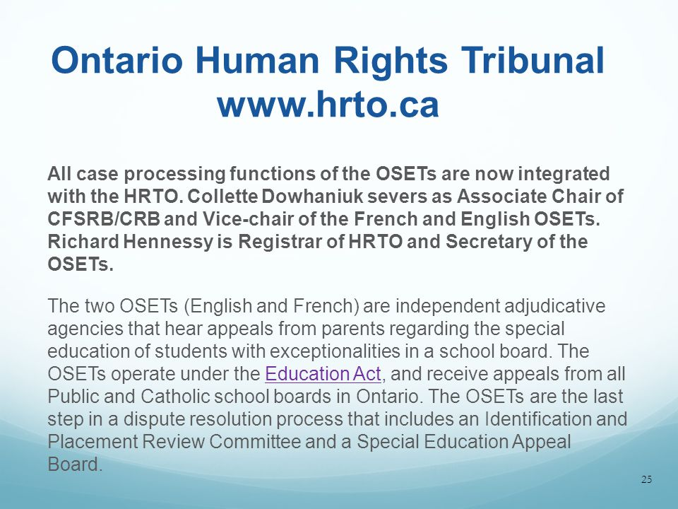 ontario education act essay 84-16e charter of rights a regulation passed under ontario's education act infringed upon the charter as it required the reading of the ontario (education.