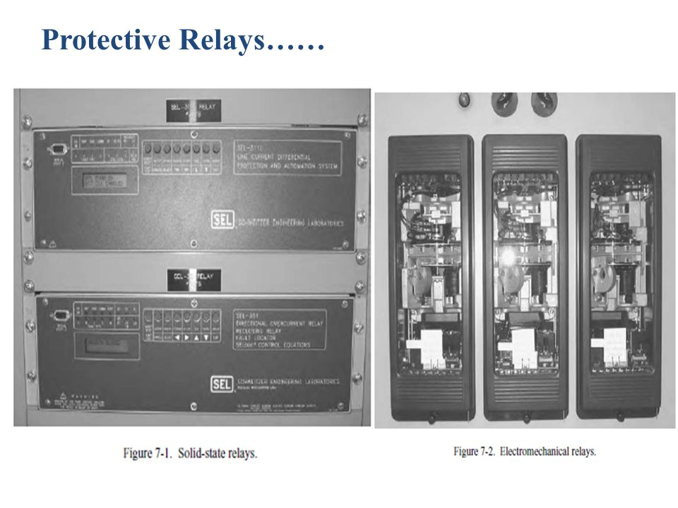 Protective Relays……