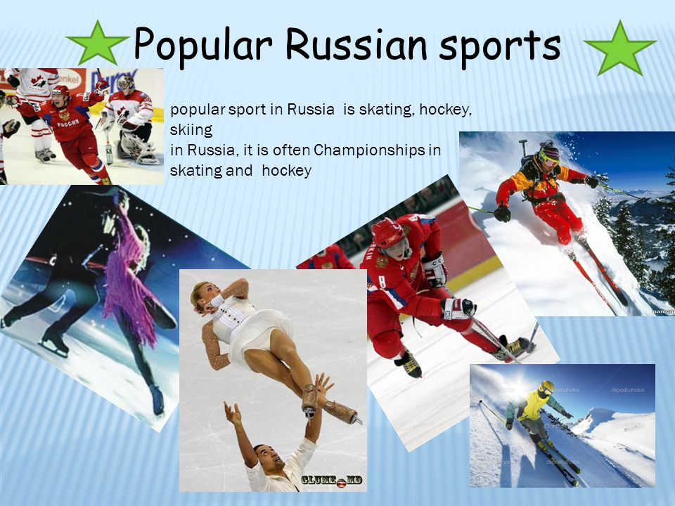 popular sports in russia Created during the growth of soviet russia, programs such as the  the authors  then break down each of the soviet union's most popular sports and their.