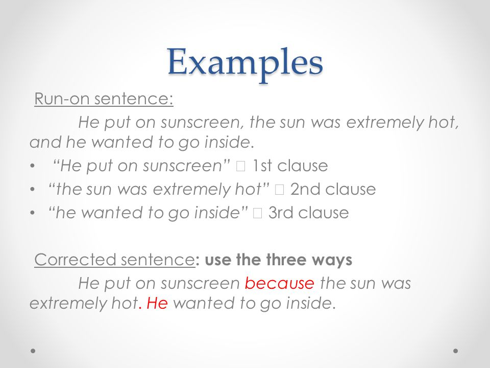 Fragments And Run On Sentences Ppt Download