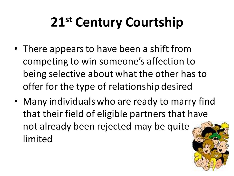 Courtship and dating ppt 1