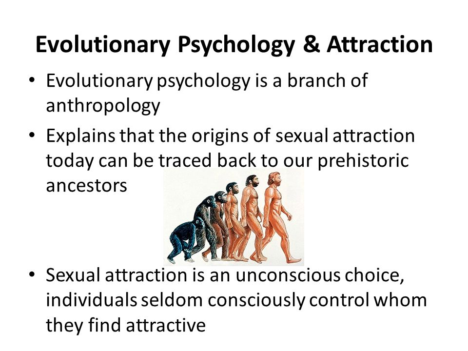 Evolutionary psychology dating
