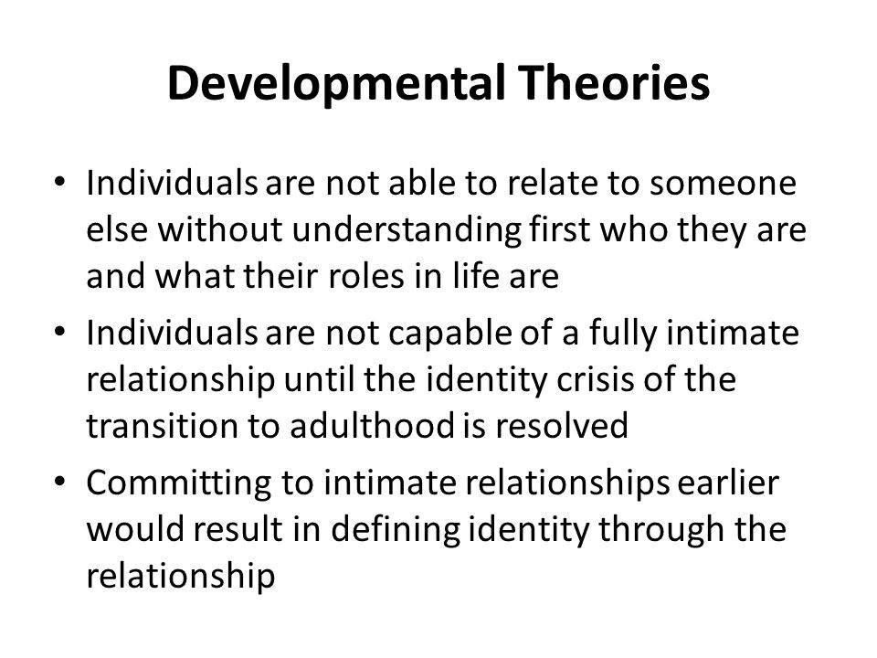 what is the definition of intimate relationship