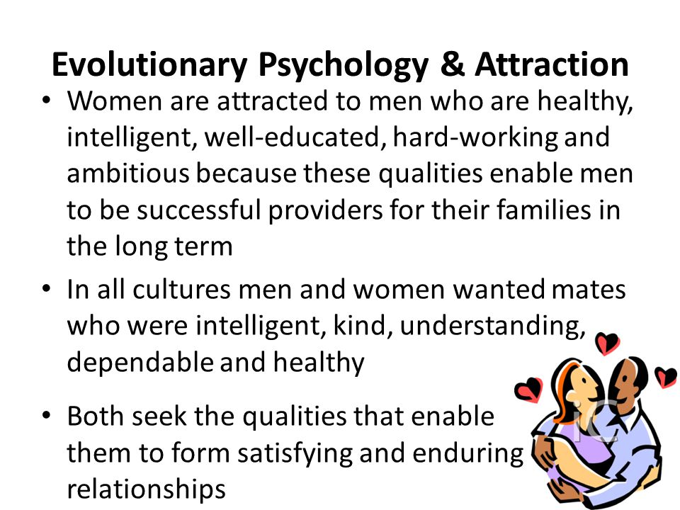 the evolultion of attraction