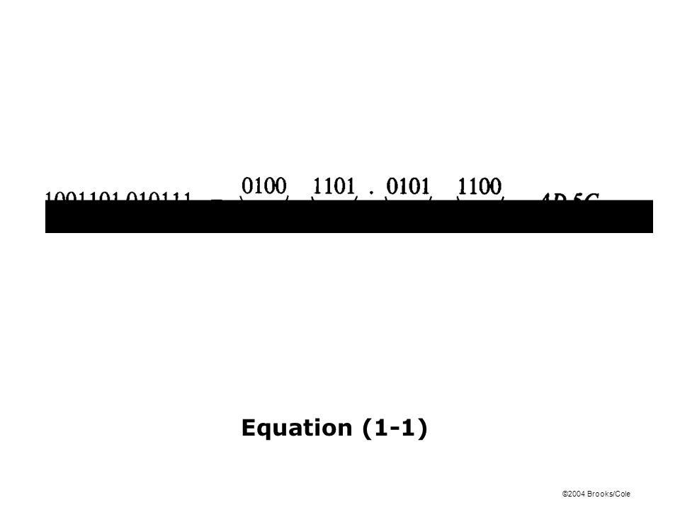 Equation (1-1)