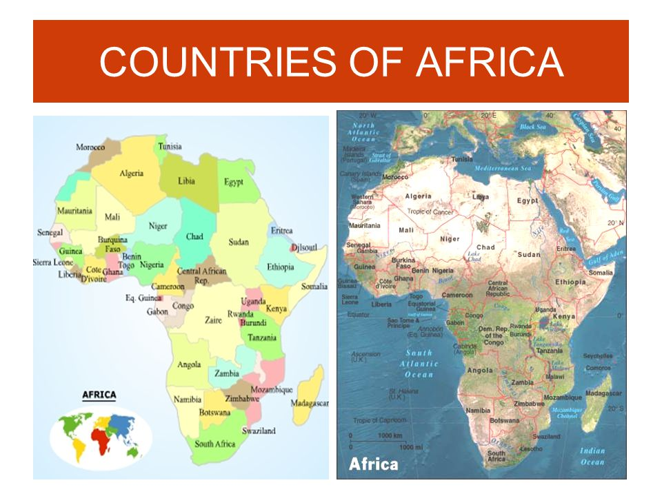 Africa Geography Political and Physical Features Cont ppt download