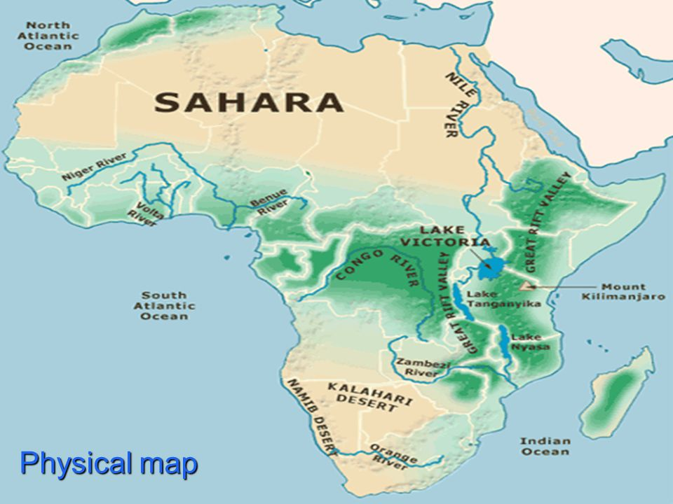 a geography of africa Geography satellite photo of africa the sahara desert in the north can be clearly seen a composite satellite image of africa (centre) with north america (left) and.