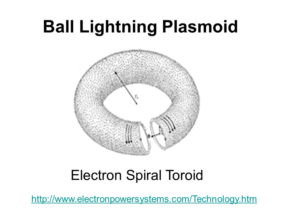 Ball Lightning Plasmoid
