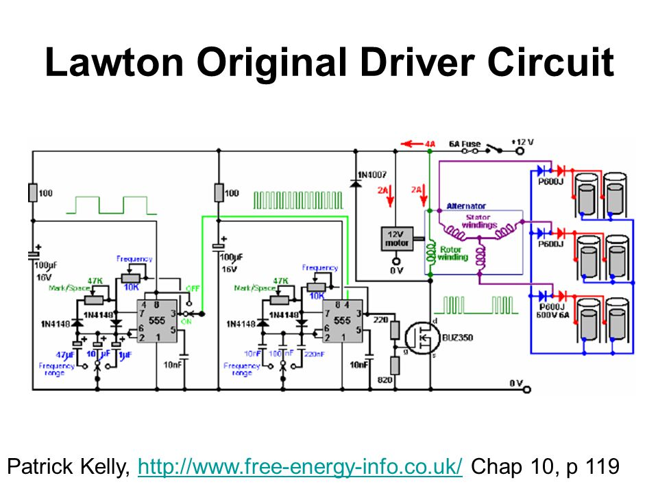 Lawton Original Driver Circuit