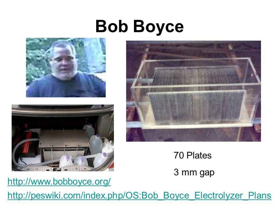 Bob Boyce 70 Plates 3 mm gap http://www.bobboyce.org/