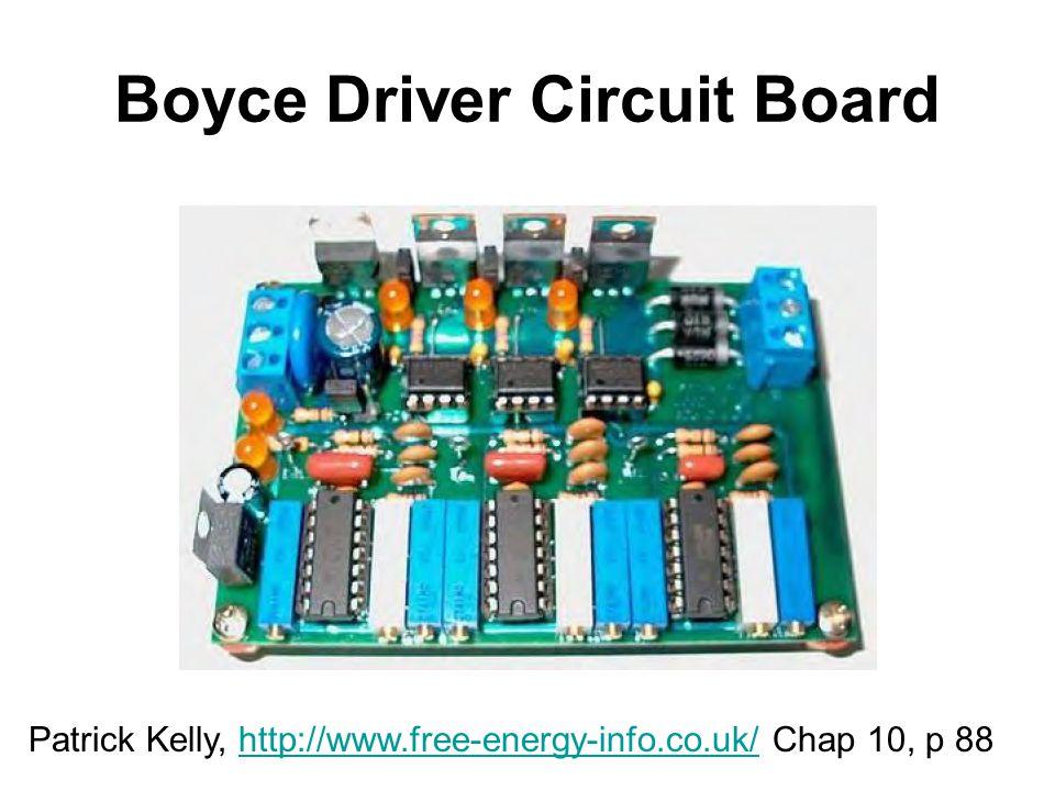 Boyce Driver Circuit Board