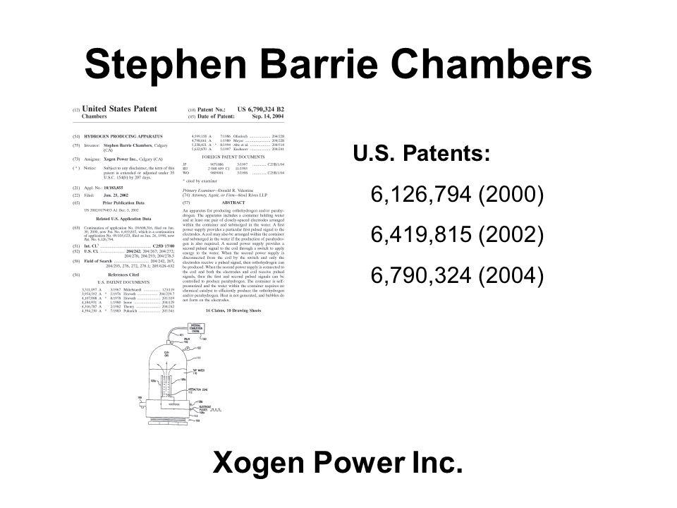 Stephen Barrie Chambers