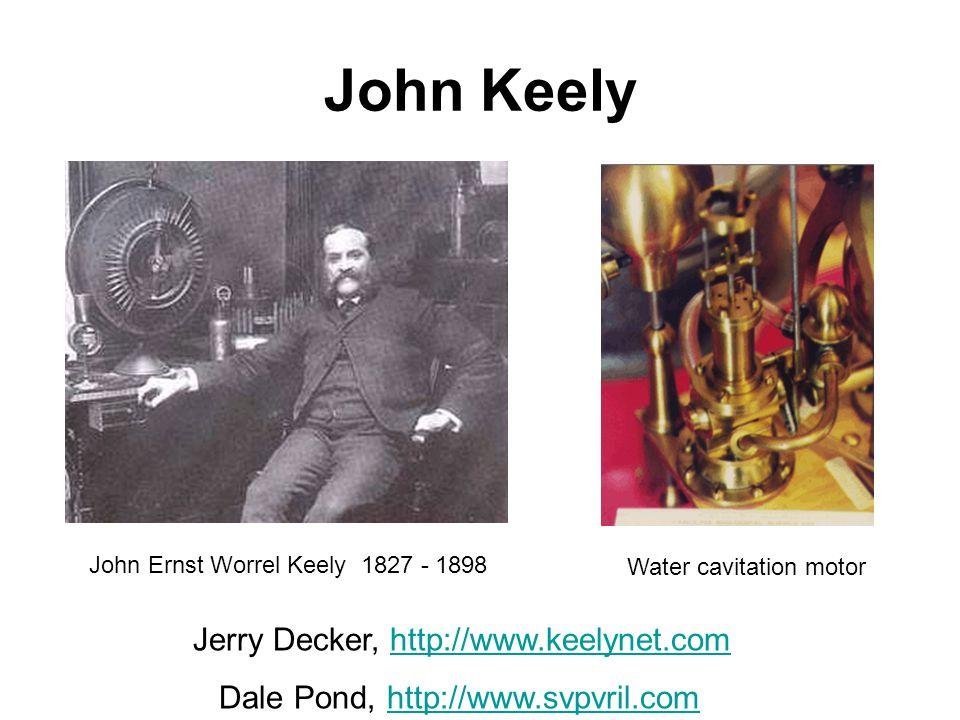 John Keely Jerry Decker, http://www.keelynet.com