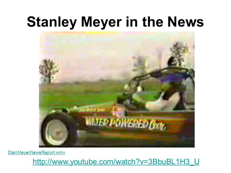 Stanley Meyer in the News