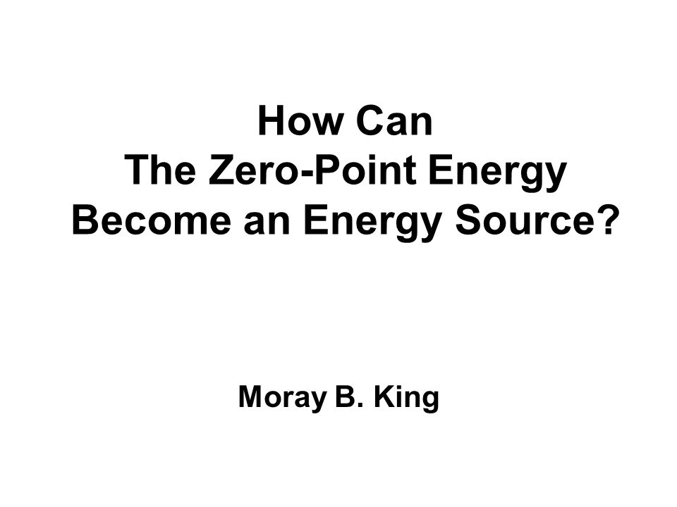How Can The Zero-Point Energy Become an Energy Source