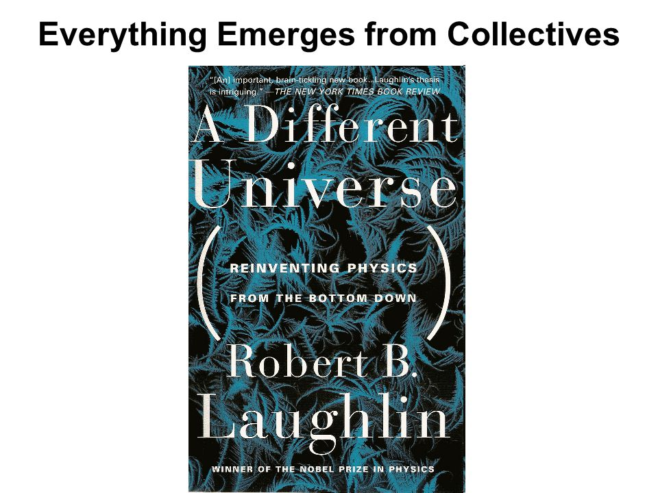 Everything Emerges from Collectives