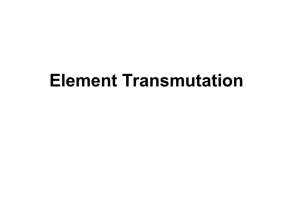 Element Transmutation