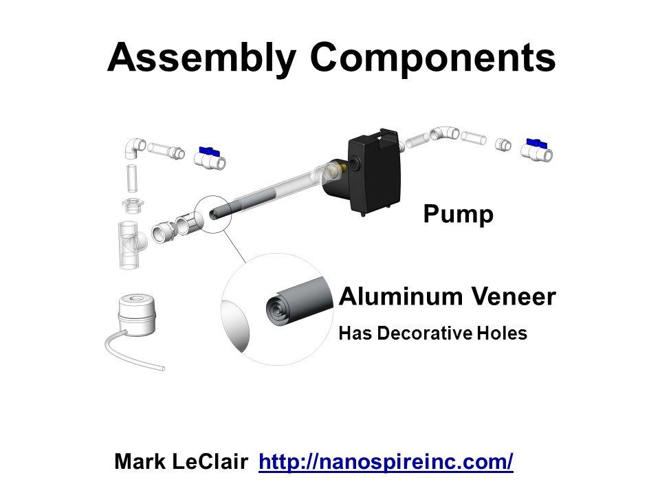 Assembly Components Pump Aluminum Veneer