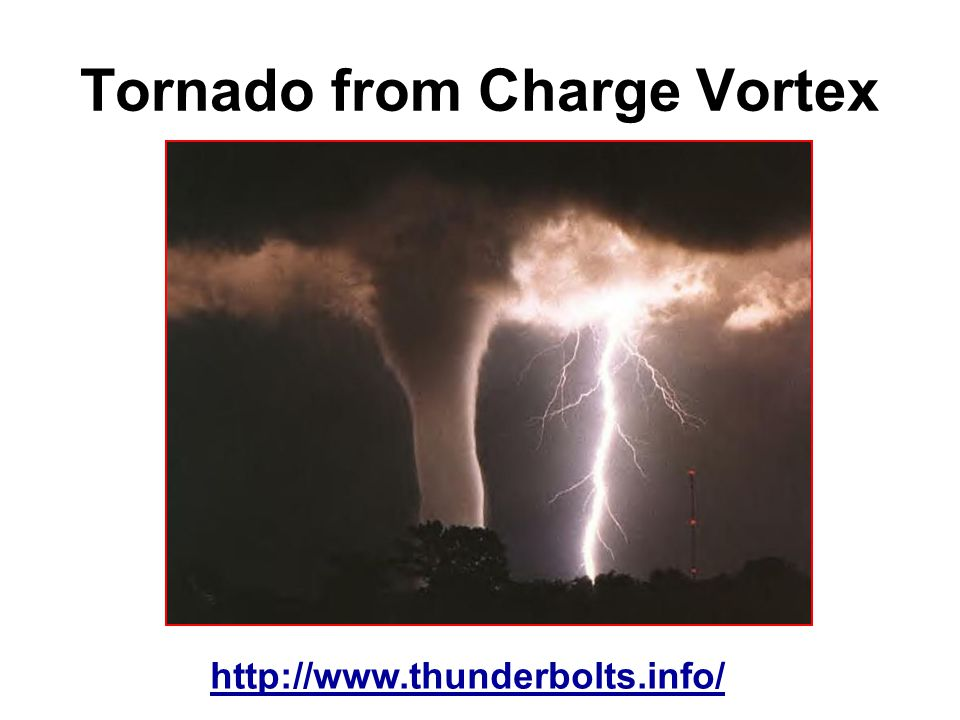 Tornado from Charge Vortex