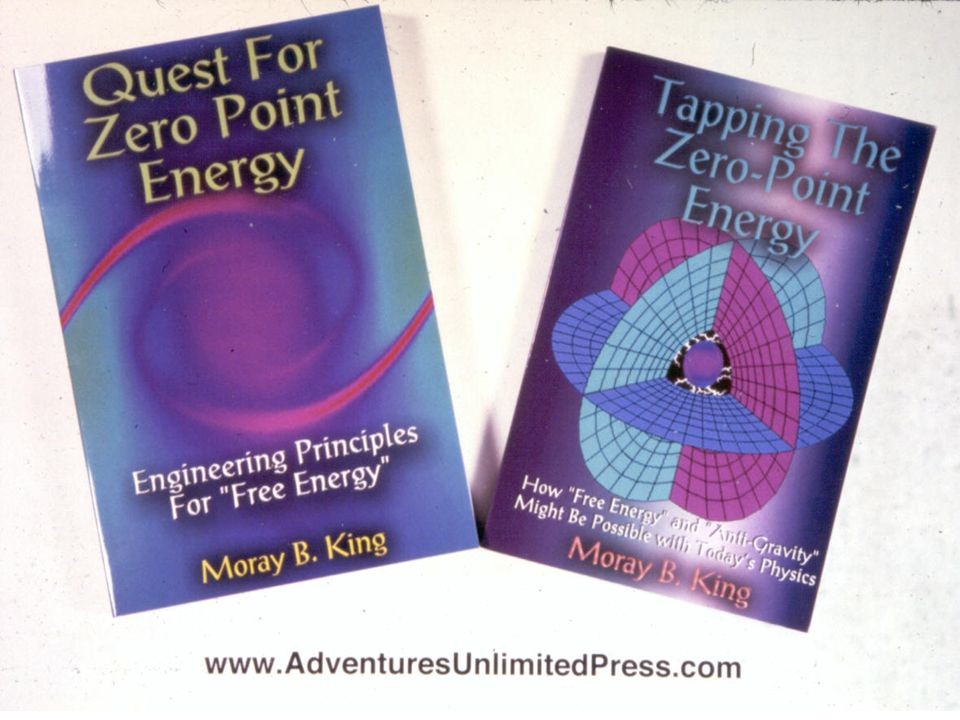 Moray King has publish three books exploring the possibility of tapping the zero-point energy as a new energy source.