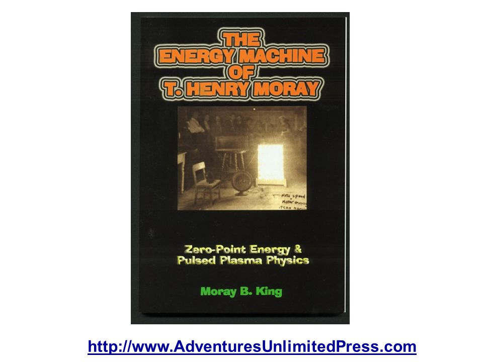 The third book, The Energy Machine of T