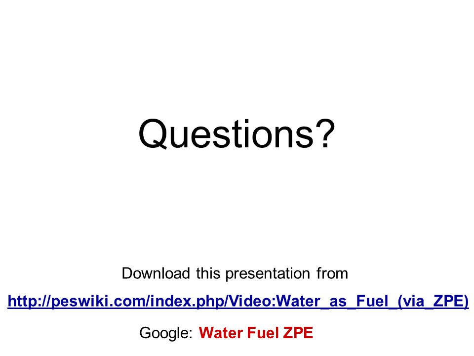 Questions Download this presentation from