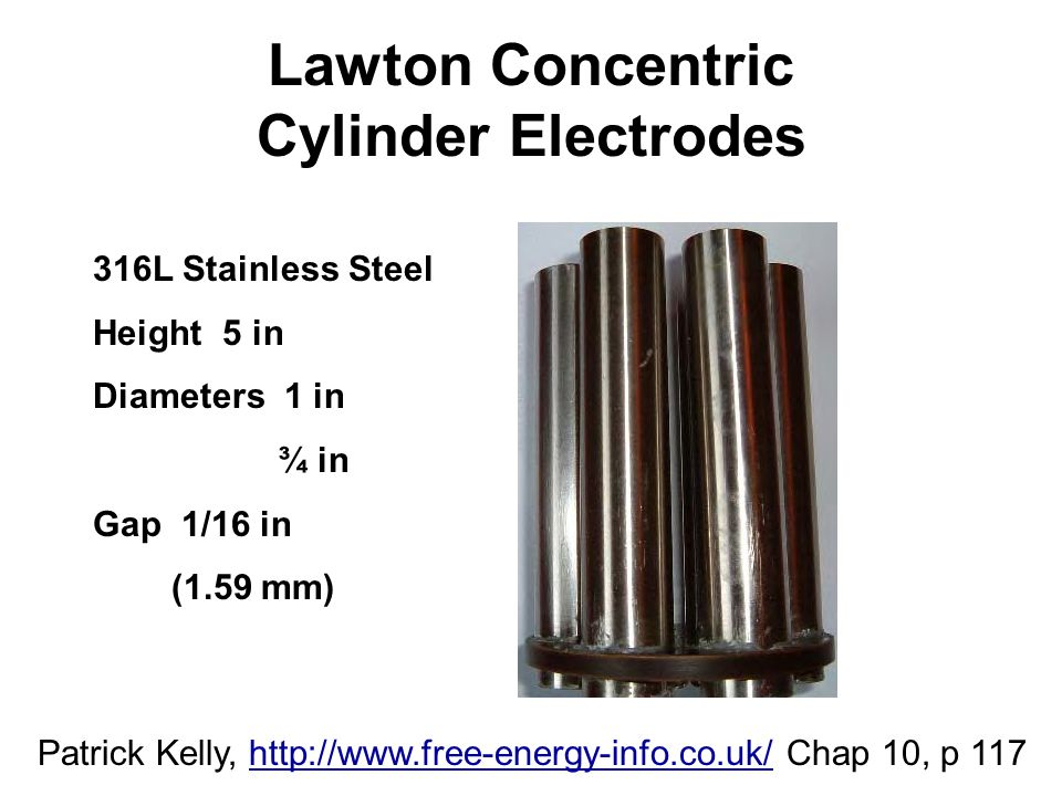 Lawton Concentric Cylinder Electrodes