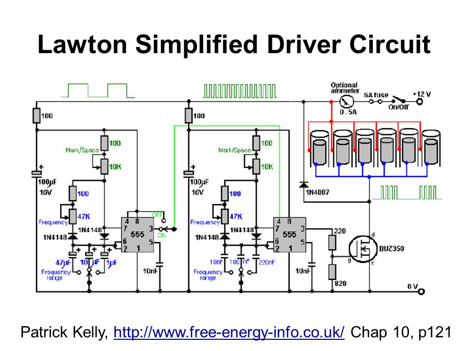 Lawton Simplified Driver Circuit
