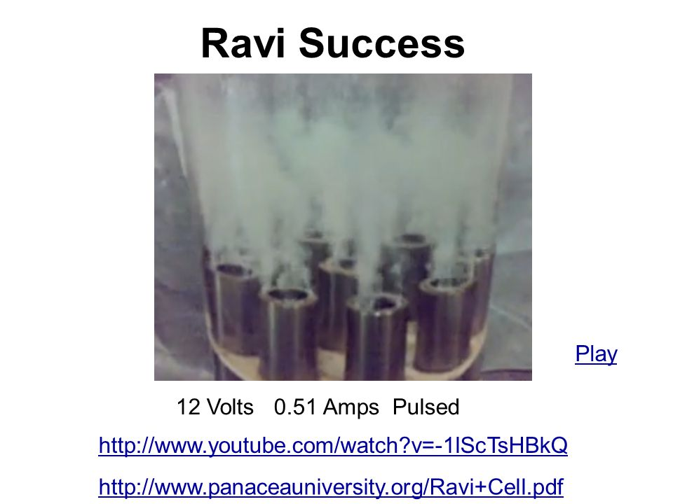 Ravi Success Play 12 Volts 0.51 Amps Pulsed