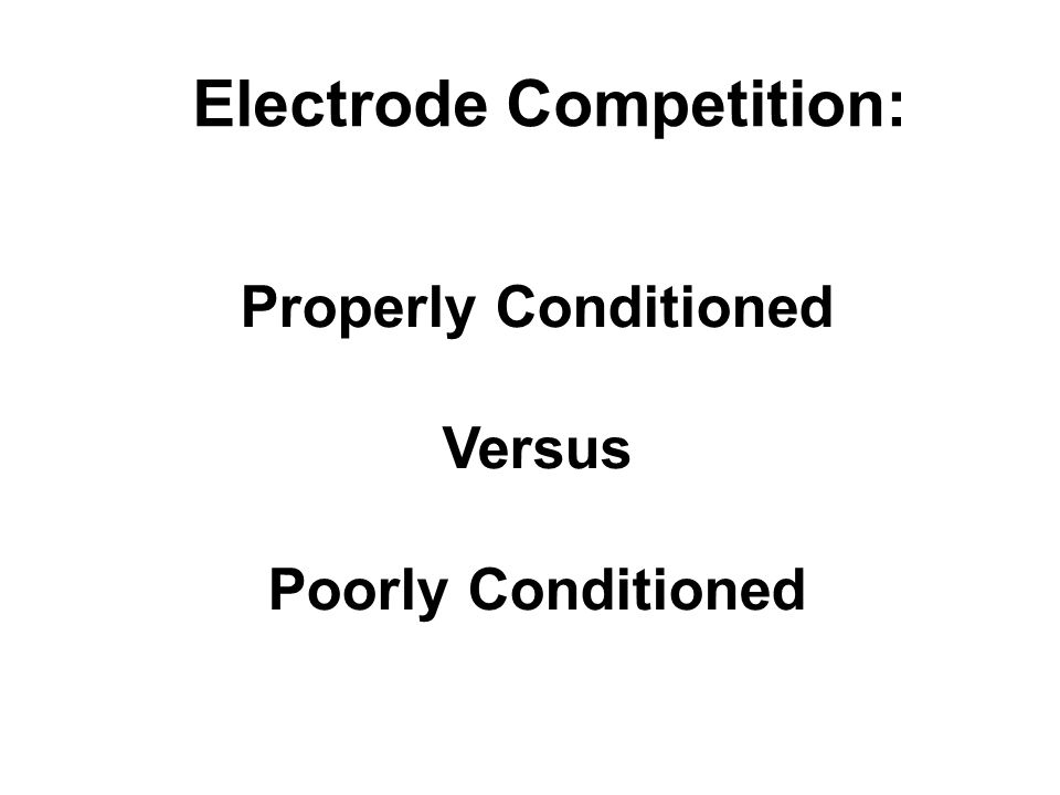 Electrode Competition: