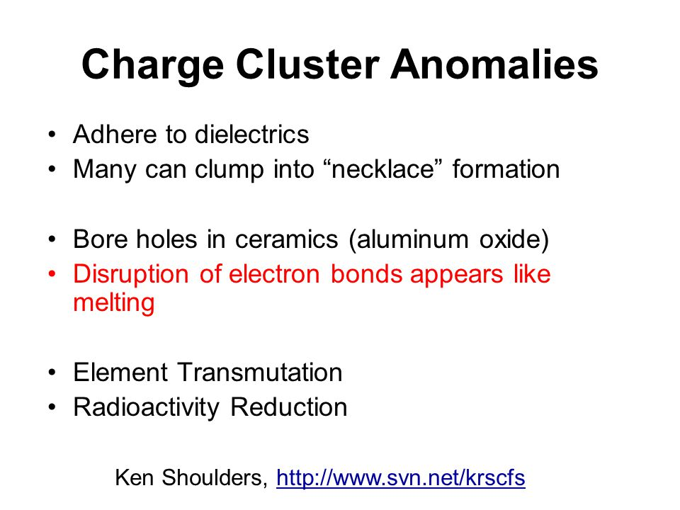 Charge Cluster Anomalies