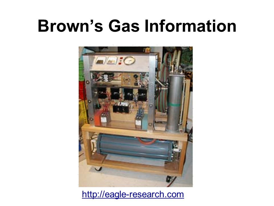 Brown's Gas Information