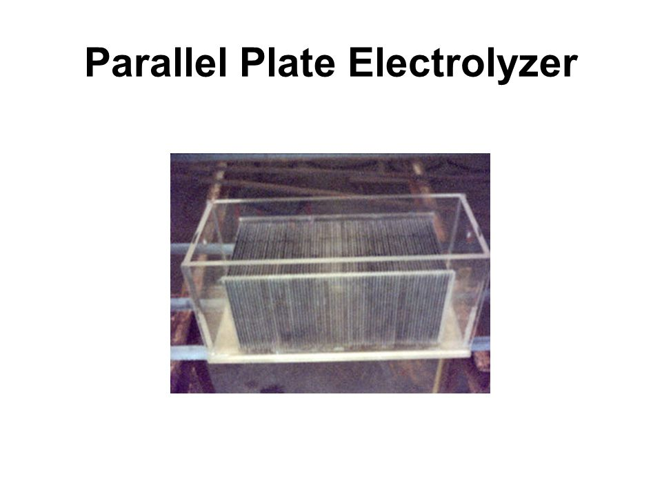 Parallel Plate Electrolyzer