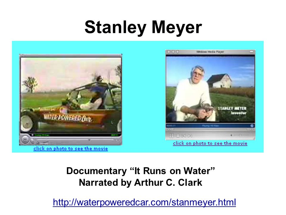 Documentary It Runs on Water Narrated by Arthur C. Clark