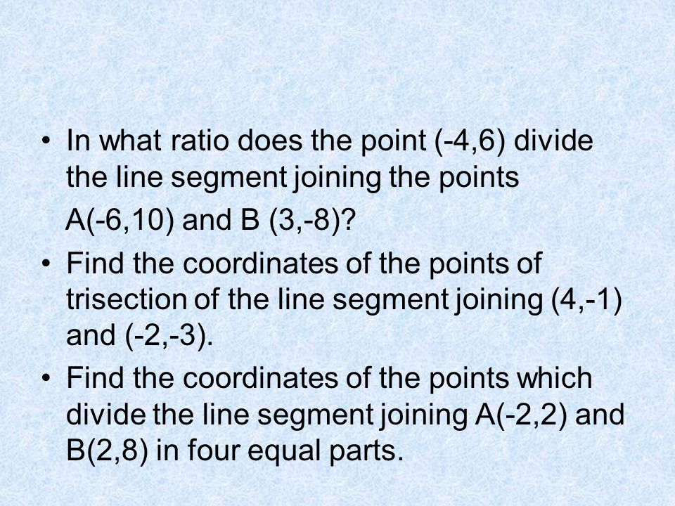 Distance between 2 points Mid-point of 2 points - ppt video online ...